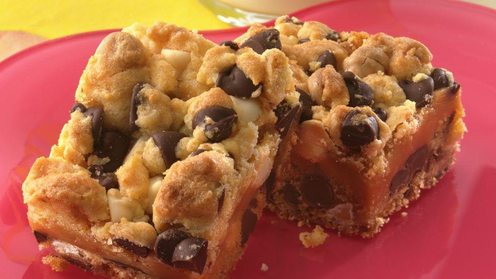Chocolate-Toffee-Caramel Bars
