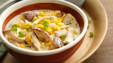 Creamy Southwest Chicken and Corn Chowder