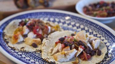 Tacos Parrilla de Pollo