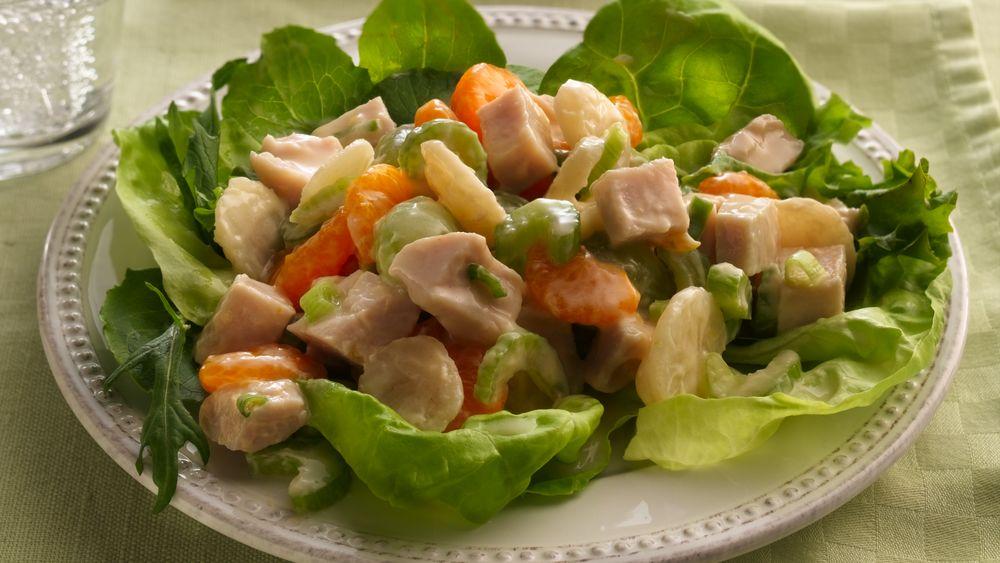 Turkey Salad with Fruit