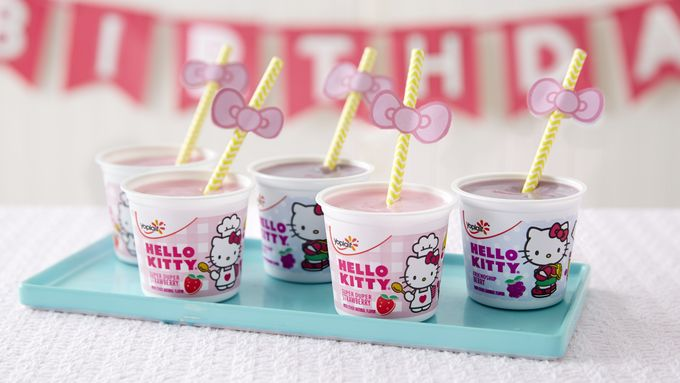 Hello Kitty® Easy Yogurt Smoothie Sippers
