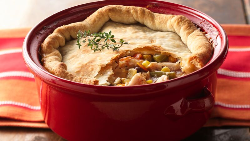 Garden Vegetable Chicken Pot Pie