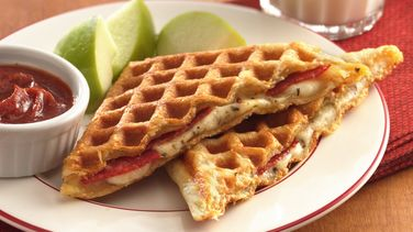 Waffled Pizza Dippers