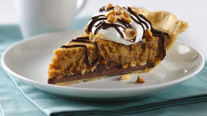 Sweet Chocolate-Peanut Butter Pie