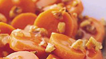 Carrots with Maple-Pecan Sauce for 18 to 24