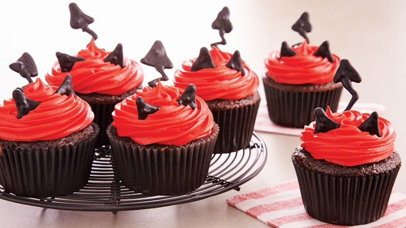 Devilish Cupcakes