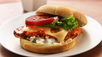 Buffalo Pepper-Chicken Sandwiches
