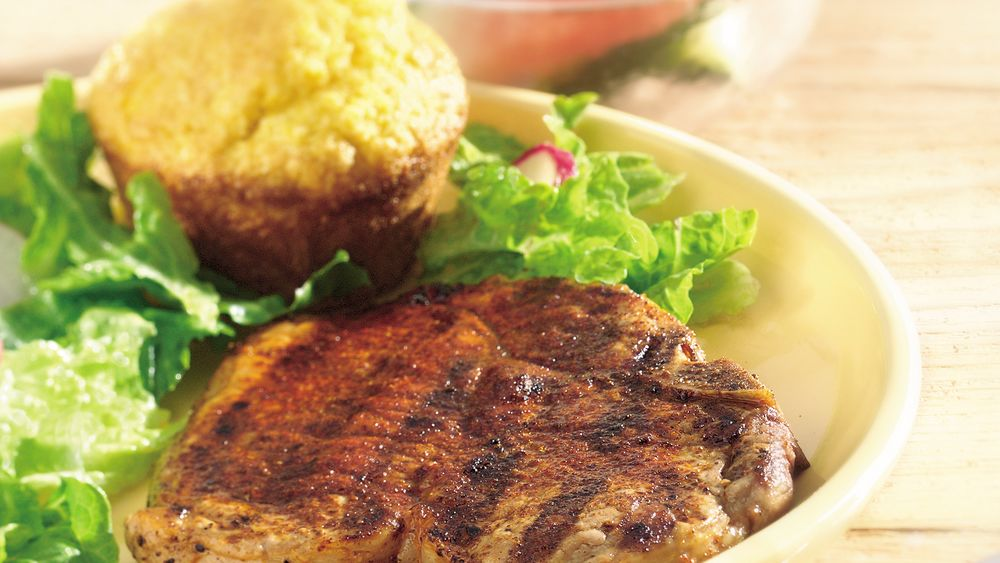 Grilled Southwestern Pork Chops