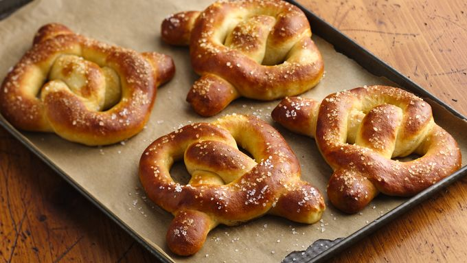 Jalapeño and Cheese-Filled Pretzels