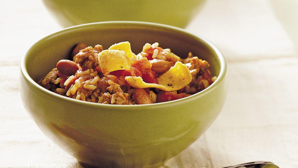Turkey and Brown Rice Chili