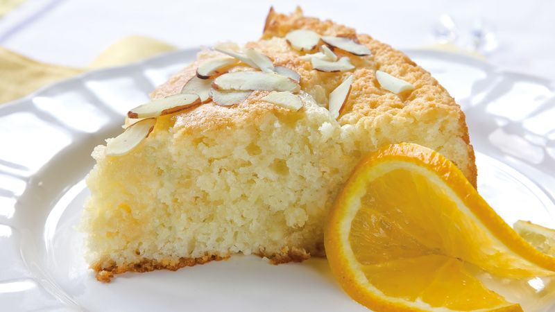 Orange Almond Coffee Cake