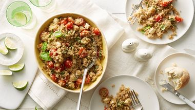 Caprese Quinoa Salad