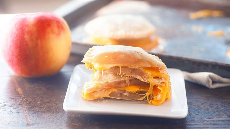 Bourbon Apple Pie Grilled Cheese