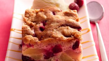 Cranberry-Apple Cobbler