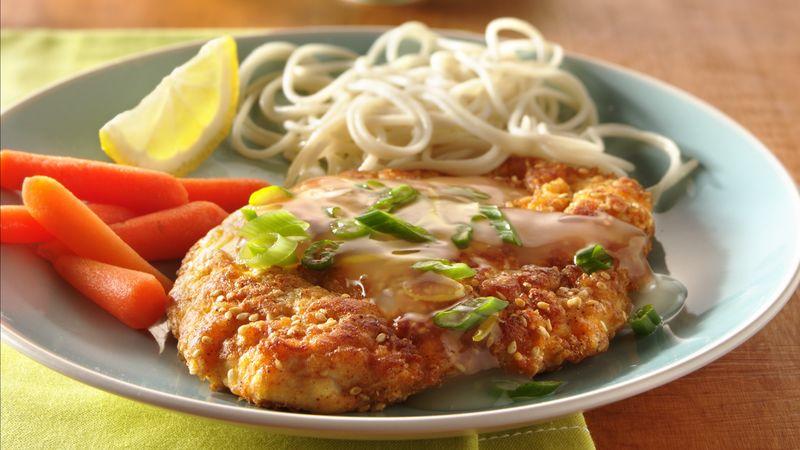 Light Lemon-Sesame Chicken
