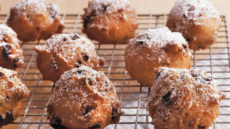Sour Cherry Fritters