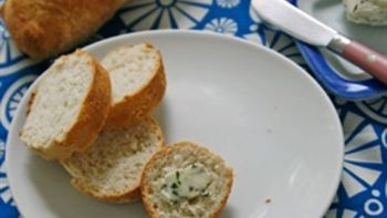 Easy Basil Compound Butter