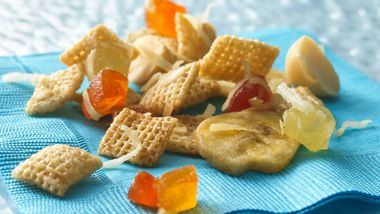 Tropical Island Chex Mix
