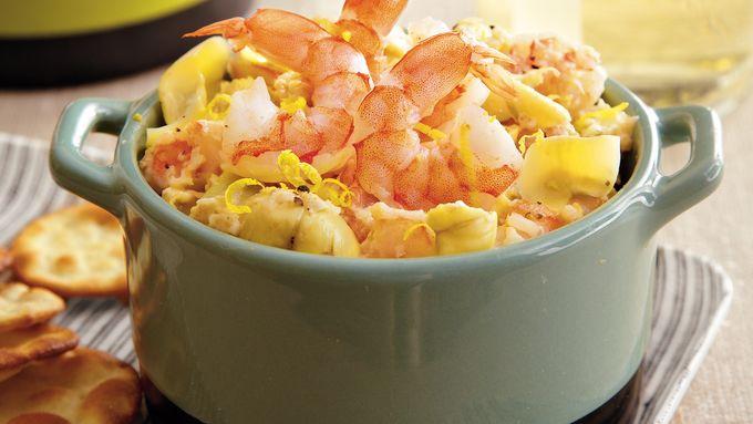 Warm Artichoke Shrimp Dip
