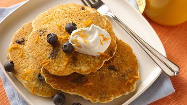Blueberry-Orange Pancakes