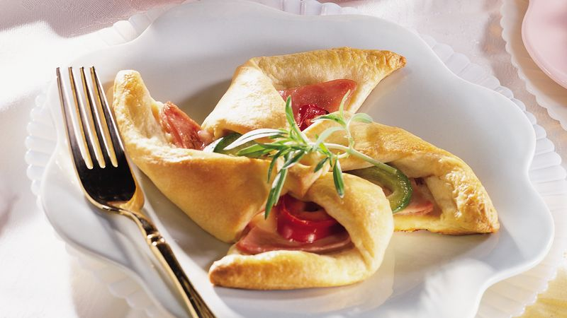 Ham And Cheese Breakfast Wheels