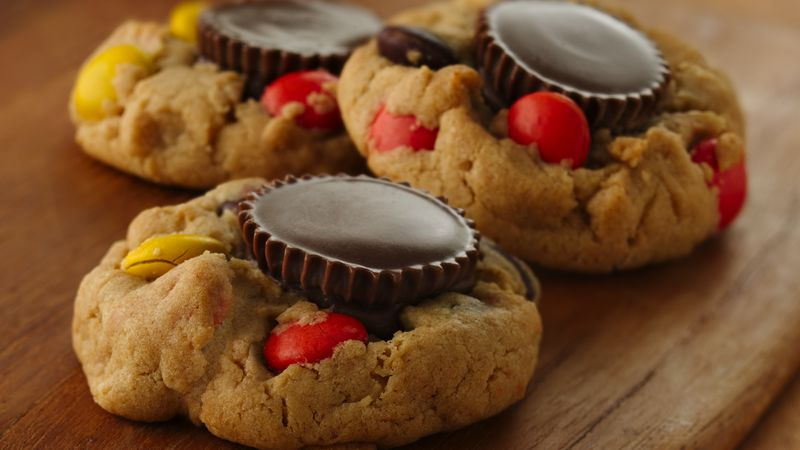 Reese's™ Peanut Butter Cup Candy Cookies