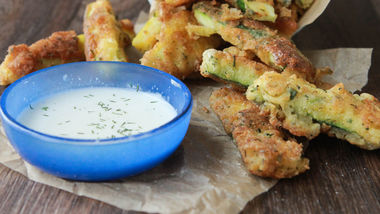 Ranch Fried Zucchini