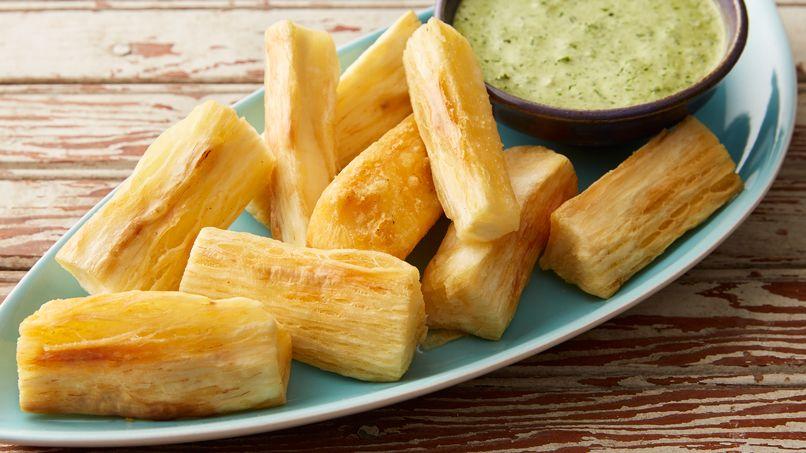Yucca frita - Como cocinar yuca ...
