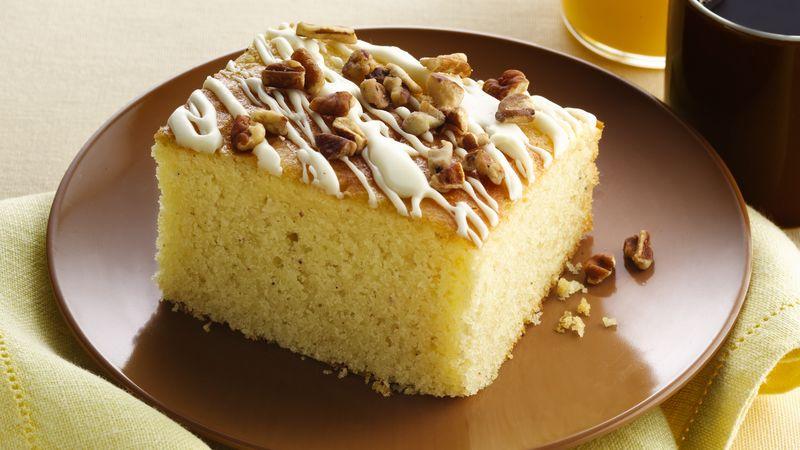 Gluten-Free Eggnog Breakfast Cake