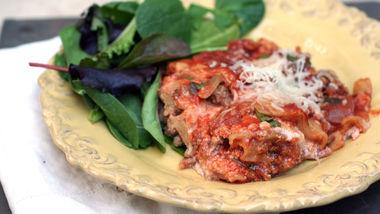 Skinny Slow-Cooker Lasagna