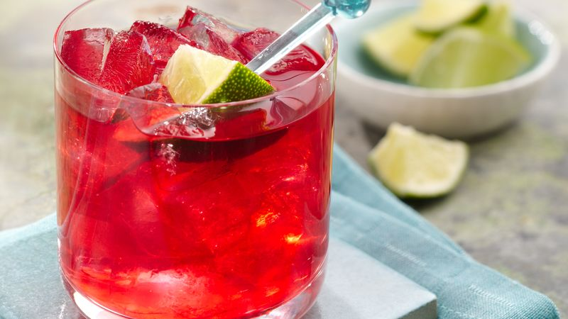 Hibiscus Lime Margarita recipe - from Tablespoon!
