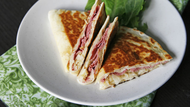 Corned Beef Quesadillas