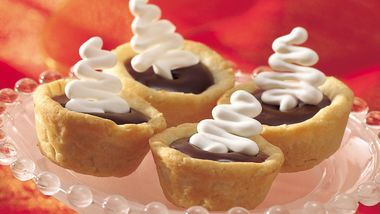 Chocolate-Caramel Tartlets