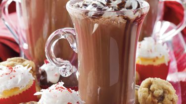 Slow-Cooker Deluxe Hot Chocolate Buffet