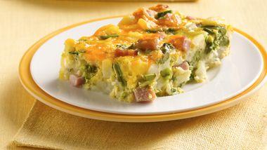 Asparagus-Potato Brunch Bake