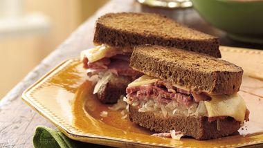 Slow-Cooker Reuben Sandwiches