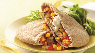 Grilled Tex-Mex Veggie Burgers