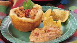 Southwestern Chicken Biscuits
