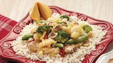 Luau Pork Stir-Fry