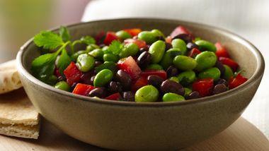 Edamame-Black Bean Salad