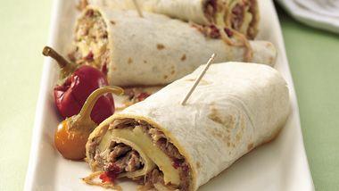 Slow-Cooker Italian Turkey Wraps
