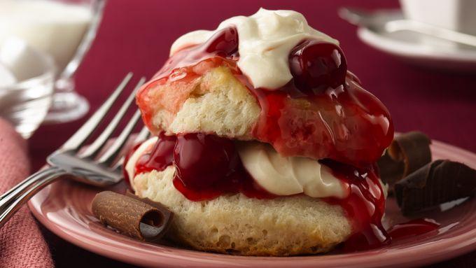 Cherry Valentine Shortcakes
