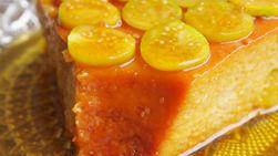 Flan de Mango y Aguaymantos