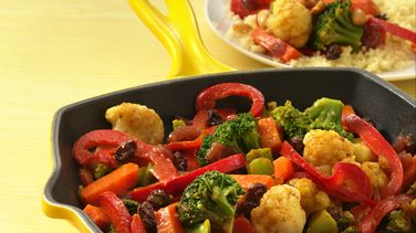 Vegetable Curry with Couscous