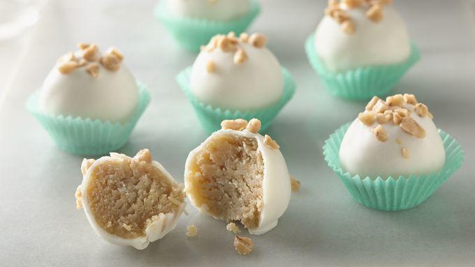 Salted Caramel Cookie Truffles