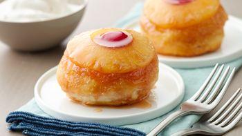 Little Pineapple Upside-Down Cakes