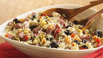 Antipasto Curly Pasta Salad