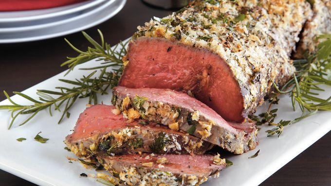 Herb Crusted Beef Tenderloin