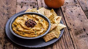 Spicy Chipotle Pumpkin Hummus