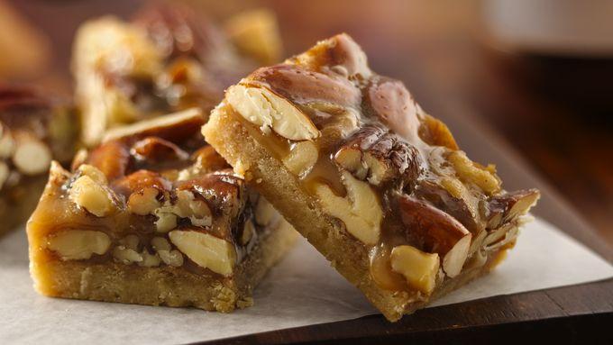Triple-Nut Bars